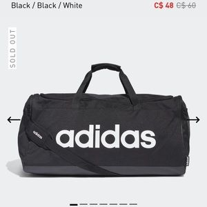 NWT Large Adidas Duffle Bag